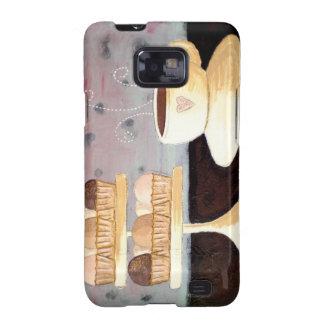 Cafe Parisien Galaxy Phone Case Samsung Galaxy S2 Cover