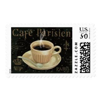 Cafe Parisien Postage