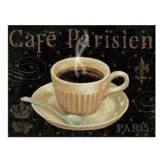 Cafe Parisien Postcard