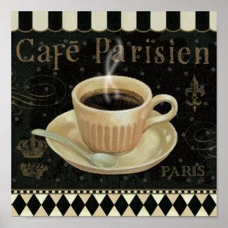 Cafe Parisien Poster