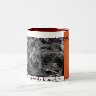 Café permeable de la barrera hematoencefálica taza