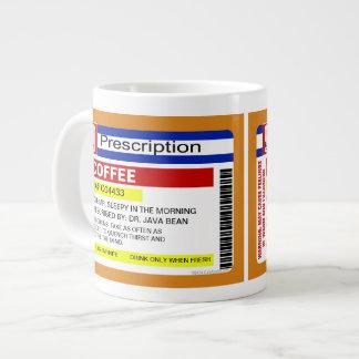Café personalizado personalizado divertido de la taza grande