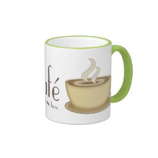 Café personalizó la taza de café