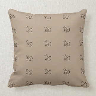 Cafe Pillows Urban Loft Decor Cats CricketDiane