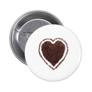 café pin redondo 5 cm