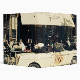 """Café pintoresco de CHez Julien en París, Francia Carpeta 1"""""""