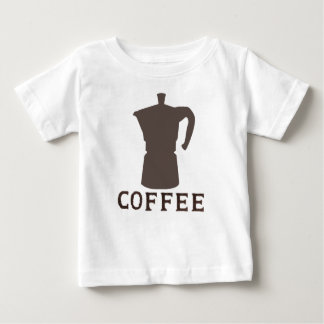 ¿café?? playera de bebé
