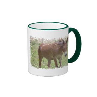 Café por favor taza de dos colores