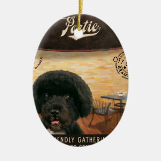 Cafe Portie Ceramic Ornament
