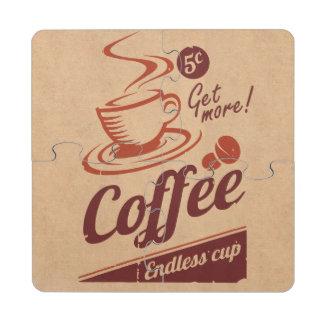 Café Posavasos De Puzzle