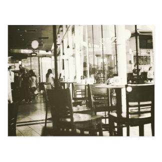 cafe... post cards