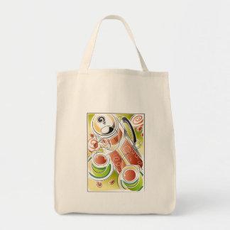 Café presionado francés bolsa lienzo