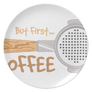 Café primero plato