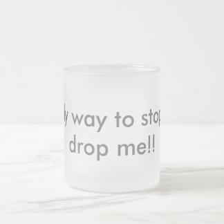 Café primero taza de cristal