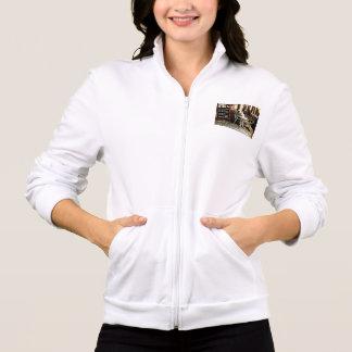 cafe printed jacket