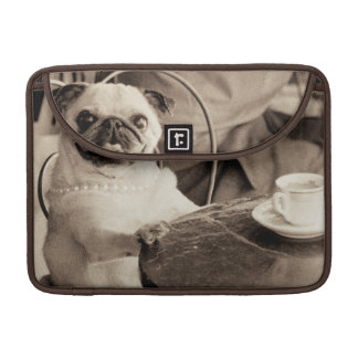 Cafe Pug MacBook Pro Sleeve