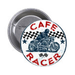 Cafe racer 2 inch round button
