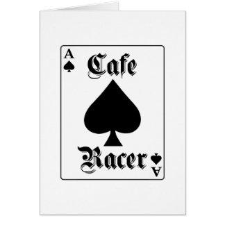 Cafe Racer Ace of Spades Card