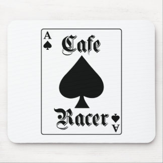 Cafe Racer Ace of Spades Mouse Pad
