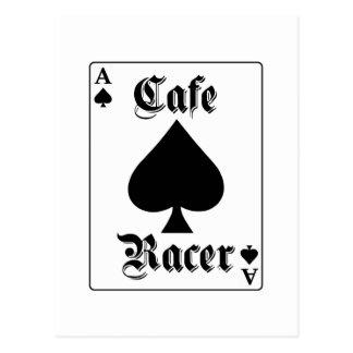 Cafe Racer Ace of Spades Postcard