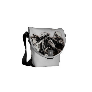 Cafe racer addict courier bags
