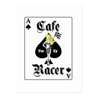 Cafe Racer Blonde Postcard