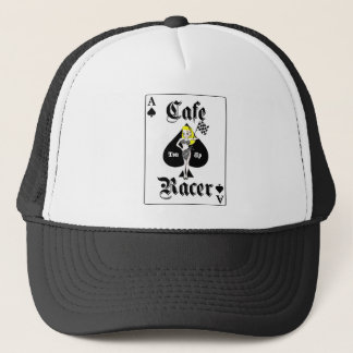 Cafe Racer Blonde Trucker Hat