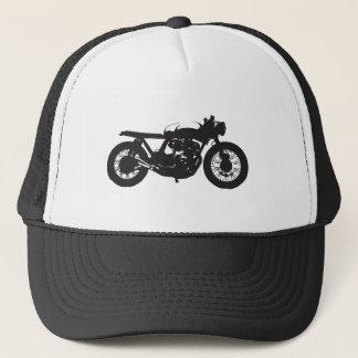 Cafe Racer / Brat Motorcycle Vintage Cool Stencil Trucker Hat