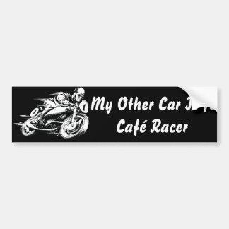 Café Racer Bumper Sticker