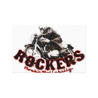 Cafe racer gallery wrap canvas