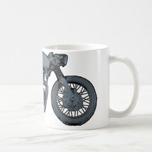 Cafe Racer Classic Grey Coffee Mug
