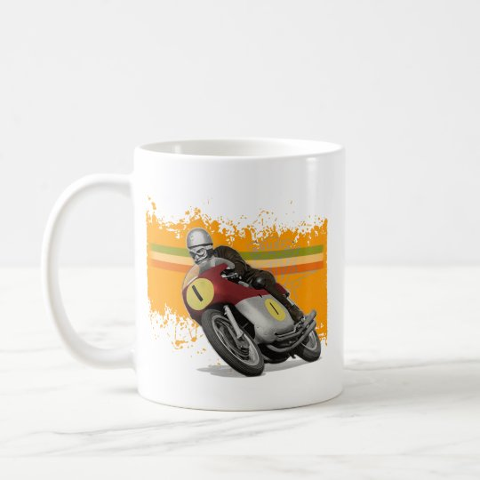 cafe racer coffee mug