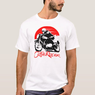 Cafe Racer Motorcycle Tshirt
