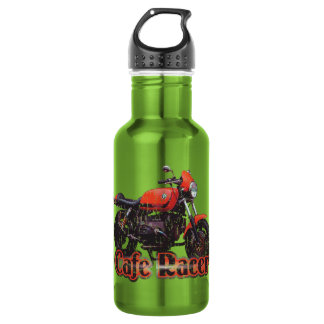Cafe Racer Motorcycle Water Bottle