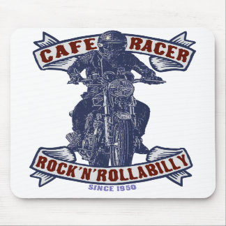 Cafe racer mouse pad