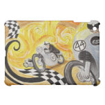 Cafe Racer - Painting of Vintage Motorcycle Racing Case For The iPad Mini