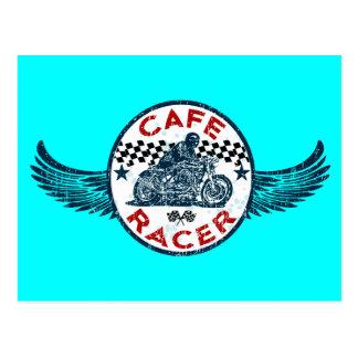 Cafe racer postcard