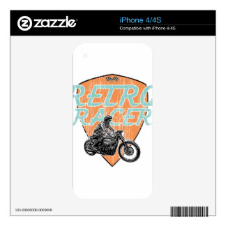 Cafe racer skin for iPhone 4S