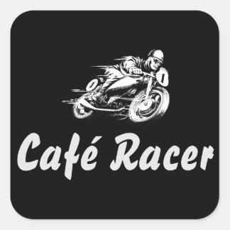 Café Racer Square Sticker