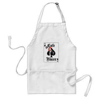 Cafe Racer Ton Up Redhead Adult Apron