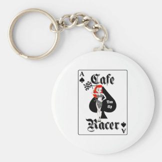 Cafe Racer Ton Up Redhead Keychain