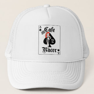 Cafe Racer Ton Up Redhead Trucker Hat