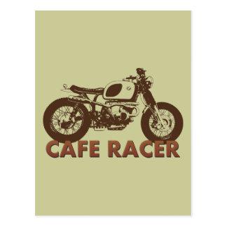 Cafe Racer Vintage Post Card