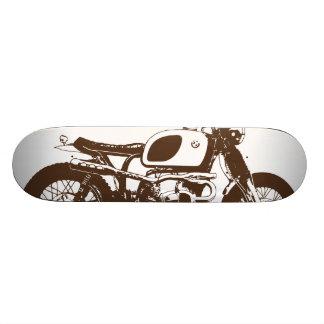 Cafe Racer Vintage Skateboard Deck