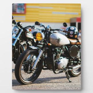 Cafe racers plaque