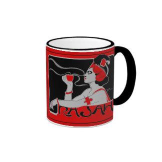 Café Rajah 2 del vintage de la taza