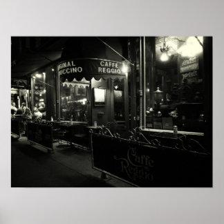 Cafe Reggio, Medium Print