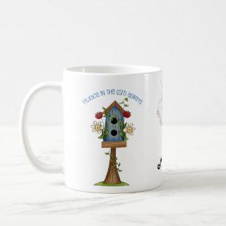 Café remilgado de la colección del país del amor taza de café