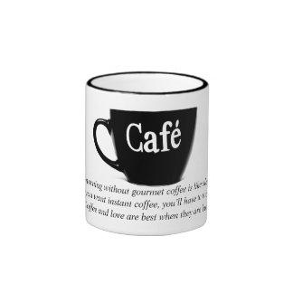 Café Ringer Mug
