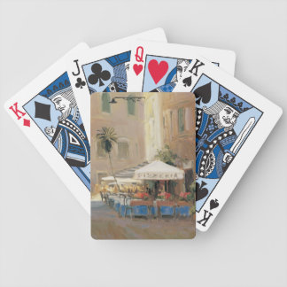 Café Roma Bicycle Playing Cards
